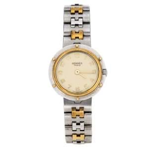 ساعة يد نسائية هيرمس كليبر ستانلس ستيل لونين بيج 24 مم