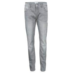 Isabel Marant Etoile Grey Embroidered Side Stripe Detail Denim Jeans L
