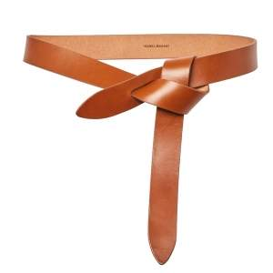 Isabel Marant Tan Leather Lecce Belt S