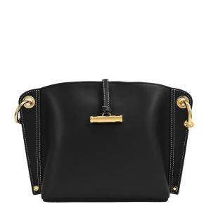 J.W. Anderson Black Leather Small Hoist Bag