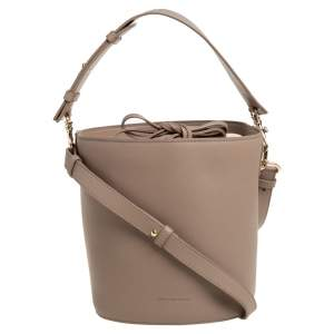 J.W. Anderson Beige Leather Bucket Bag