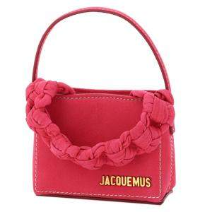 Jacquemus Pink Leather Le Petite Sac Noeud Braided Handle Mini Bag