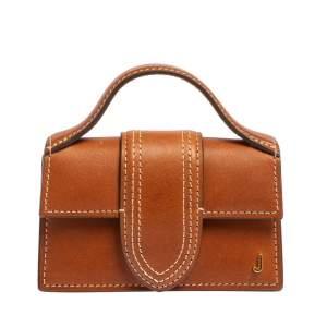 Jacquemus Brown Leather Le Petit Bambino Bag