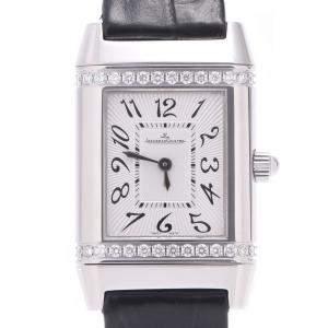 Jaeger LeCoultre Silver Stainless Steel 265.8.47 Women's Wristwatch 21 MM