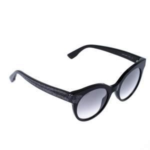Jimmy Choo Black Gradient Mirta Cat Eye sunglasses