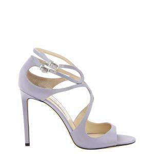 Jimmy Choo Purple Lang Sandals Size IT 39