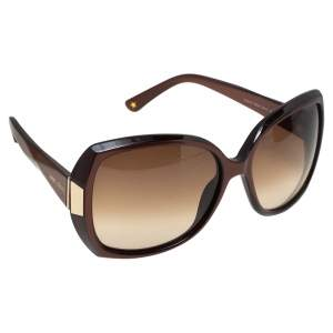 Jimmy Choo Chocolate Brown/ Brown Gradient Gaby Oversized Sunglasses