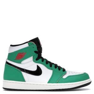 Nike Jordan 1 Lucky Green Sneakers (US Size 9.5W / EU Size 41)