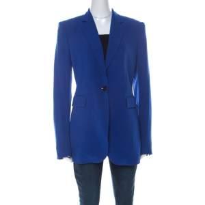 Joseph Blue Crepe Classic Blazer L