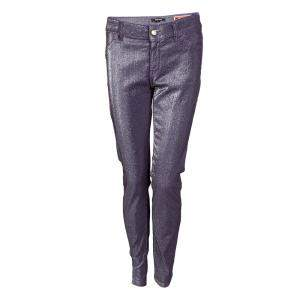 Just Cavalli Purple Lurex Just Chic Jeggings L