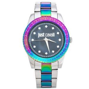 Just Cavalli Mother Of Pearl Stainless Steel Just Sunset Women's Wristwatch 36 mm