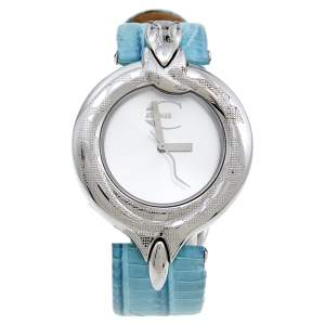 Just Cavalli Stainless Steel Leather 7251425535 Women's Wristwatch 32 mm