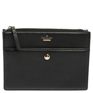 Kate Spade Black Leather Crossbody Bags