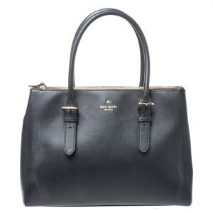 Kate Spade Black Leather Charlotte Street Reena Tote