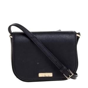 Kate Spade Black Leather Nadine Crossbody Bag