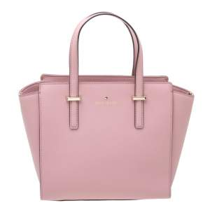 Kate Spade Powder Pink Leather Cameron Tote