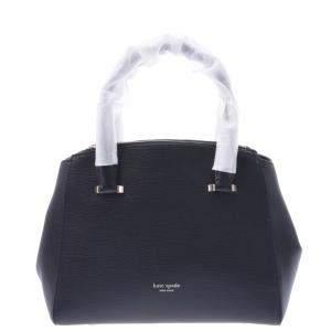 حقيبة كيت سبيد سيدني جلد أسود