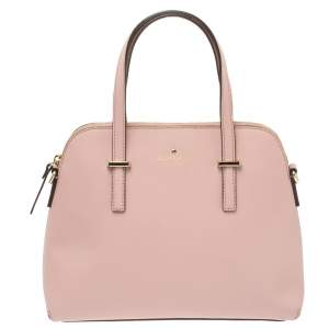 Kate Spade Blush Pink Leather Cedar Street Maise Satchel