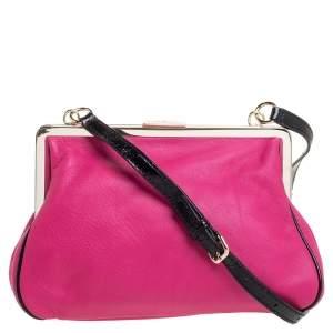 Kate Spade Pink Leather Parker Place Claribel Shoulder Bag