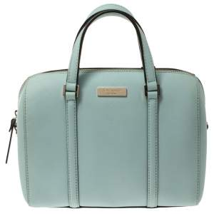 Kate Spade Mint Green Leather Newbury Lane Cassie Bag