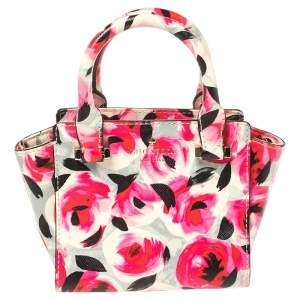 Kate Spade Multicolor Floral Print Coated Canvas Crossbody Bag
