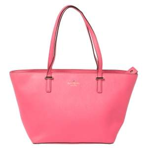 Kate Spade Pink Leather Cedar Street Harmony Tote