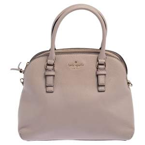 Kate Spade Pale Pink Leather Zip Dome Satchel