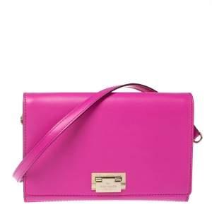 Kate Spade Pink Leather Hardwood Place Fiona Shoulder Bag