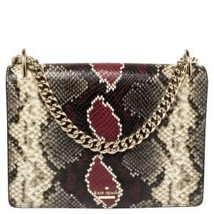 Kate Spade Multicolor Python Spencer Shoulder Bag