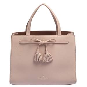 Kate Spade Pink Leather Hayes Street Sam Tote