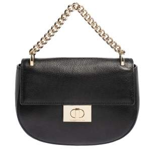 Kate Spade Black Leather Greenwood Place Rita Top Handle Bag