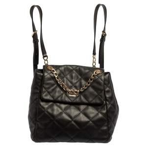 حقيبة ظهر كيت سبيد إيمرسون بليس مارتينا جلد مبطن أسود