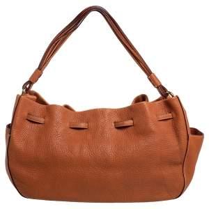 Kate Spade Brown Leather Bucket Bag