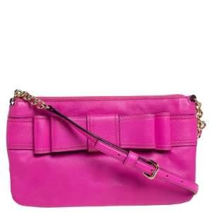 Kate Spade Pink Leather Crossbody Bag