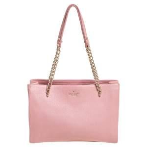 Kate Spade Pink Leather Jordyn Tote