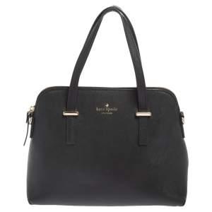 Kate Spade Black Leather Cedar Street Maise Shoulder Bag