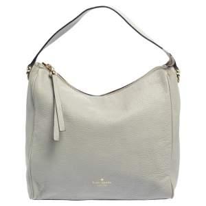 Kate Spade Grey Leather Shoulder Bag