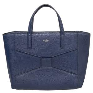 Kate Spade Blue Leather Francisca Tote