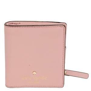 Kate Spade Pink Leather Bifold Wallet