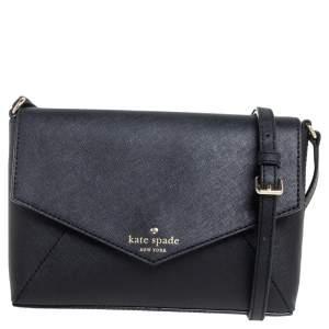 Kate Spade Black Leather Cedar Street Crossbody Bag