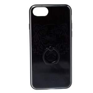 Kenzo Black PVC Tiger Print iPhone 7/8 Case