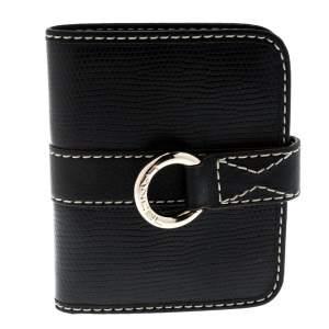 Lancel Black Leather French Wallet
