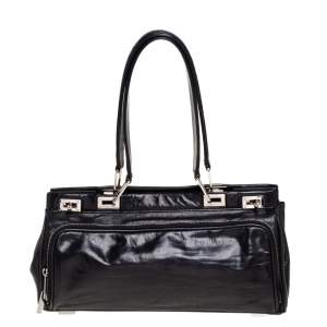 Lancel Black Leather Satchel