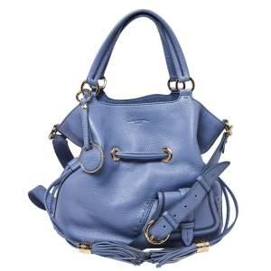 Lancel Lavender Leather Premiere Flirt Bucket Bag