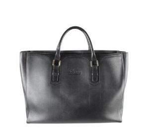 Loewe Black Leather Large Tote