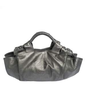 Loewe Metallic Nappa Leather Aire Hobo