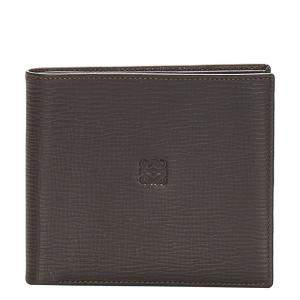 Loewe Black Leather Anagram Bifold Small Wallet