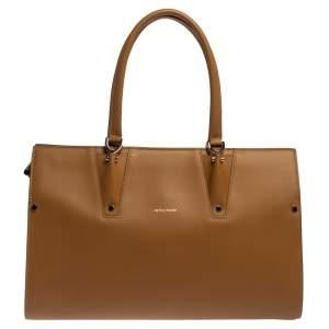 Longchamp Tan Leather Le Paris Premiere Tote