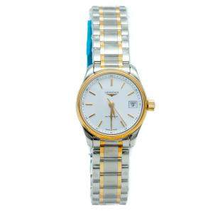 Longines White Automatic The Longines Master Collection Steel & Yellow Gold Women's Watch