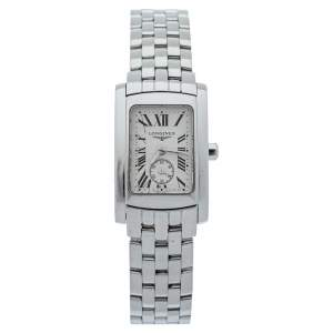 Longines Silver Stainless Steel Dolce Vita L51554716 Women's Wristwatch 20 mm